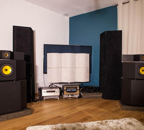 Salle dédiée traitée acoustiquement