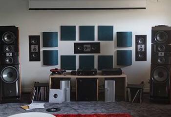 Panneau acoustique pour home studio