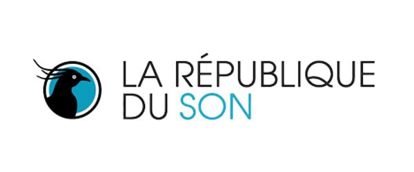 Logo de la revue en ligne, la république du son