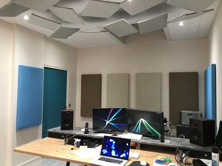 Créer son Home Studio avec des panneaux acoustiques