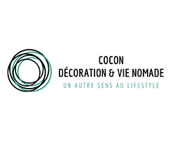 Logo cocon décoration vie nomade
