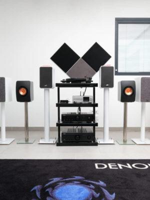 Pack Quartet- confort acoustique pour Hifi, musique et Home cinéma