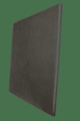 Panneau acoustique gris foncé