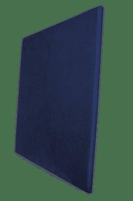 Panneau acoustique bleu électrique