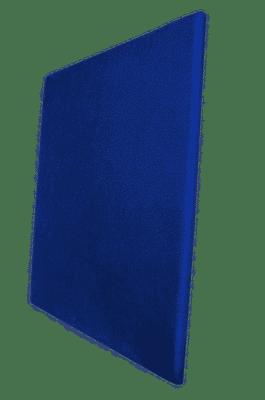 Panneau acoustique bleu