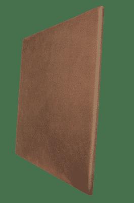 Panneau acoustique marron terre