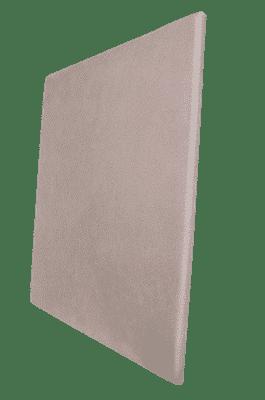 Panneau acoustique gris métallique