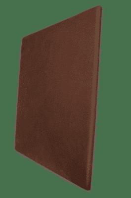 Panneau acoustique marron