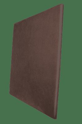 Panneau acoustique brun